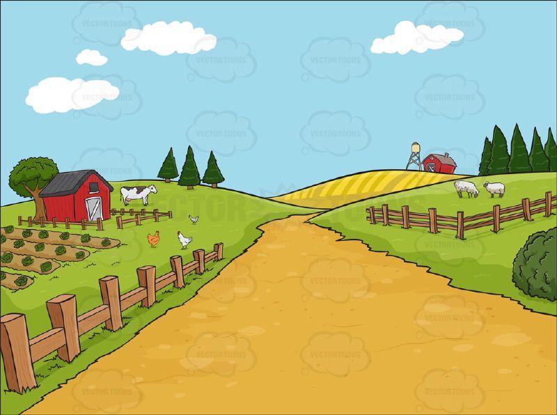 Image Result For Cartoon Farmyard