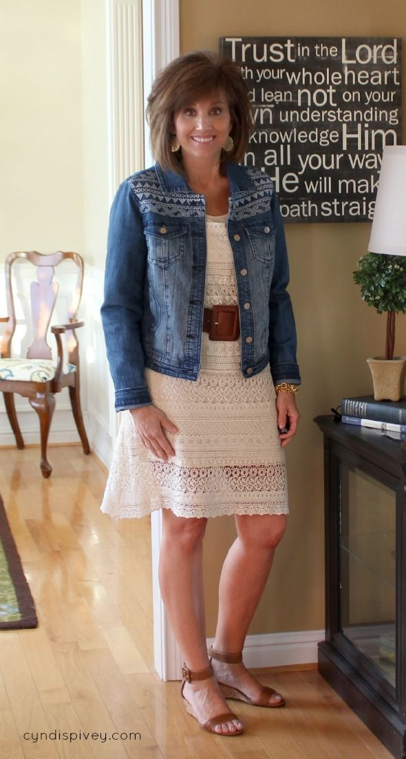 Trends For Spring Summer Clothes For Real Women Over 40: What I Wore-Fashion For Women Over 40