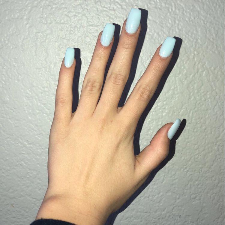 natural summer nail color ideas
