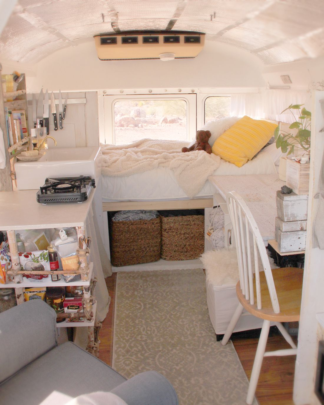 School bus conversion Home is where you