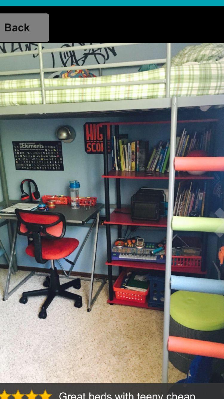 Tuffing loft bed ideas  Pin by Natalie Bausone on Kids room ideas  Pinterest  Kids rooms