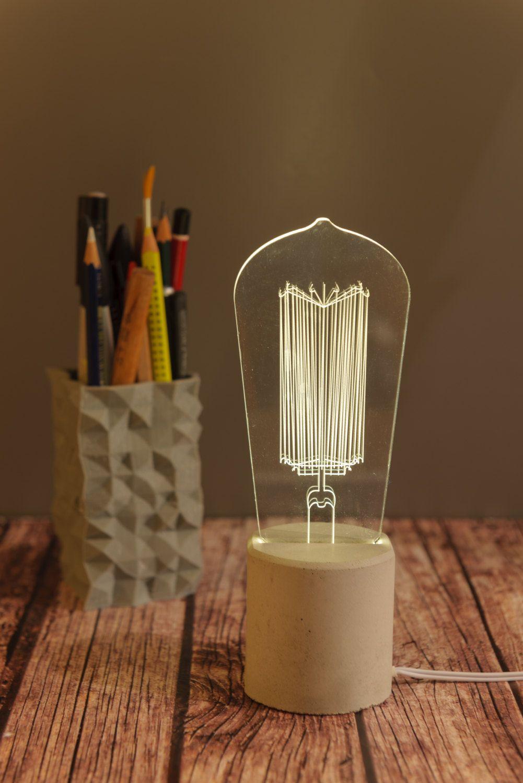 Light Bulb Edison Bulb Lamp Decorative Light Gift For Him Edison