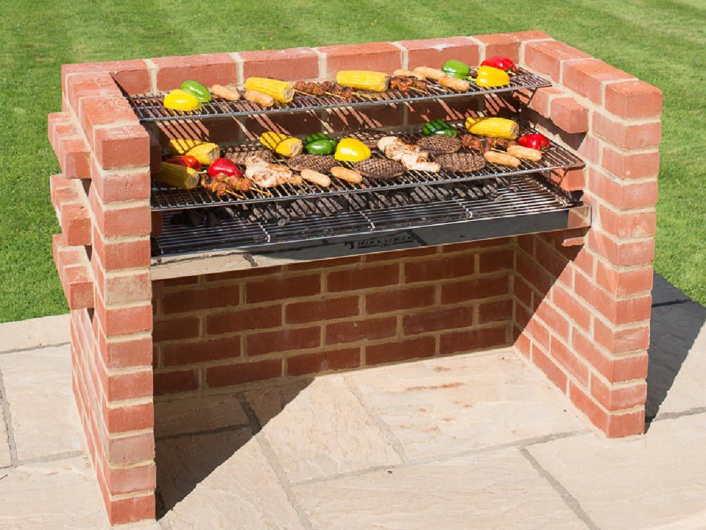 Brick Bbq Grill Kit Bbq Brick Bbq Brick Grill Diy Grill