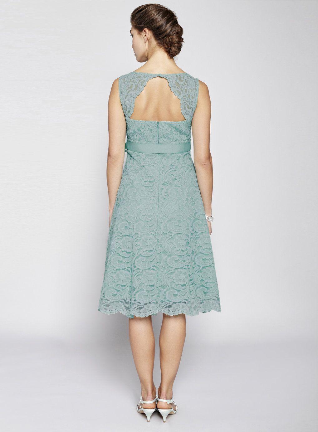 Dark Mint Bella Lace Short Bridesmaid Dress - BHS | bridesmaid ...