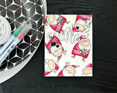 Merry Monday Christmas Challenge Christmas Challenge Cards