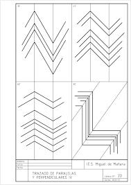Tipos De Laminas De Dibujo Buscar Con Google Paralelas Y Perpendiculares Tecnicas De Dibujo Ejercicios De Dibujo