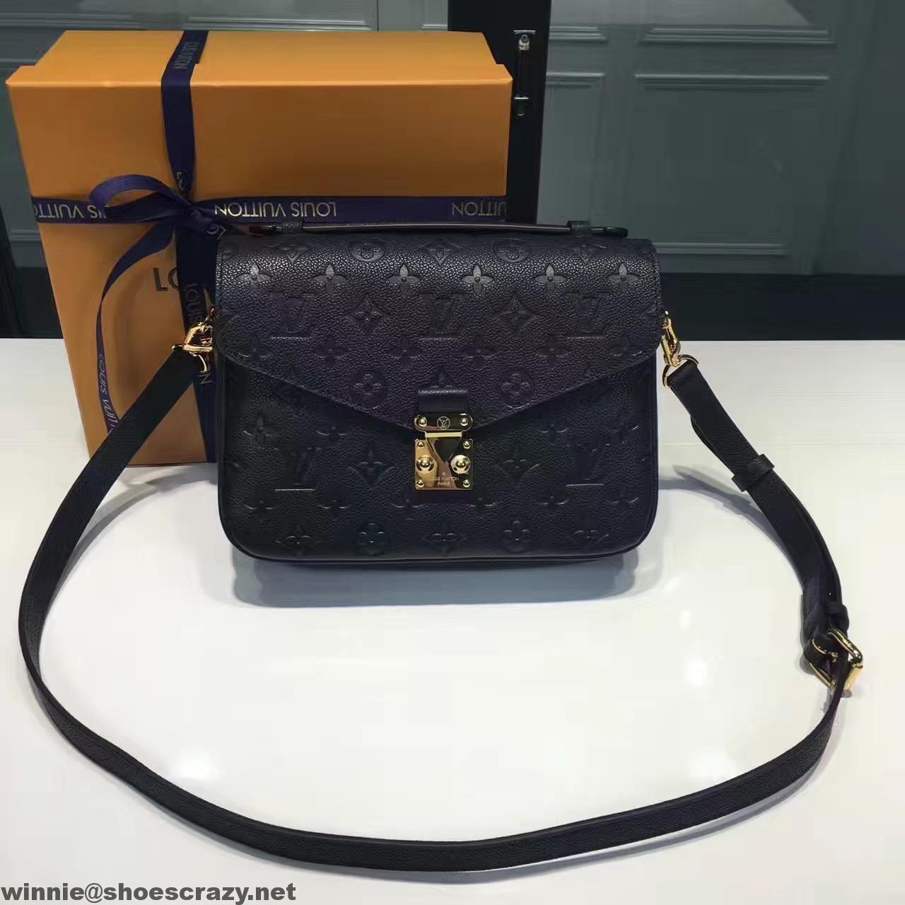 Louis Vuitton Monogram Empreinte Leather Pochette Metis