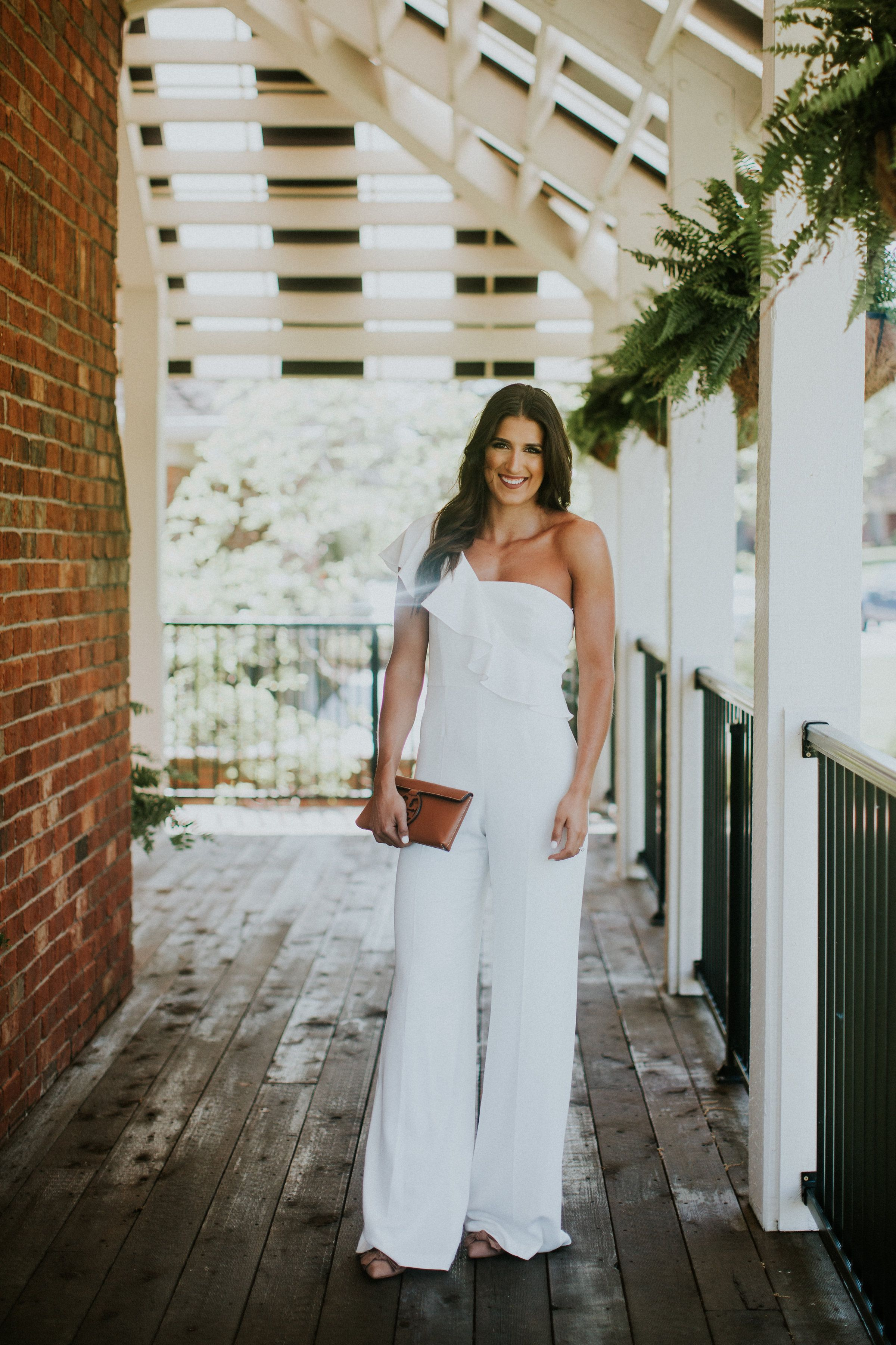 Jay Godfrey Bridal Shop A Southern Drawl White Dress Summer White Lace Mini Dress Bridal Jumpsuit [ 3600 x 2400 Pixel ]