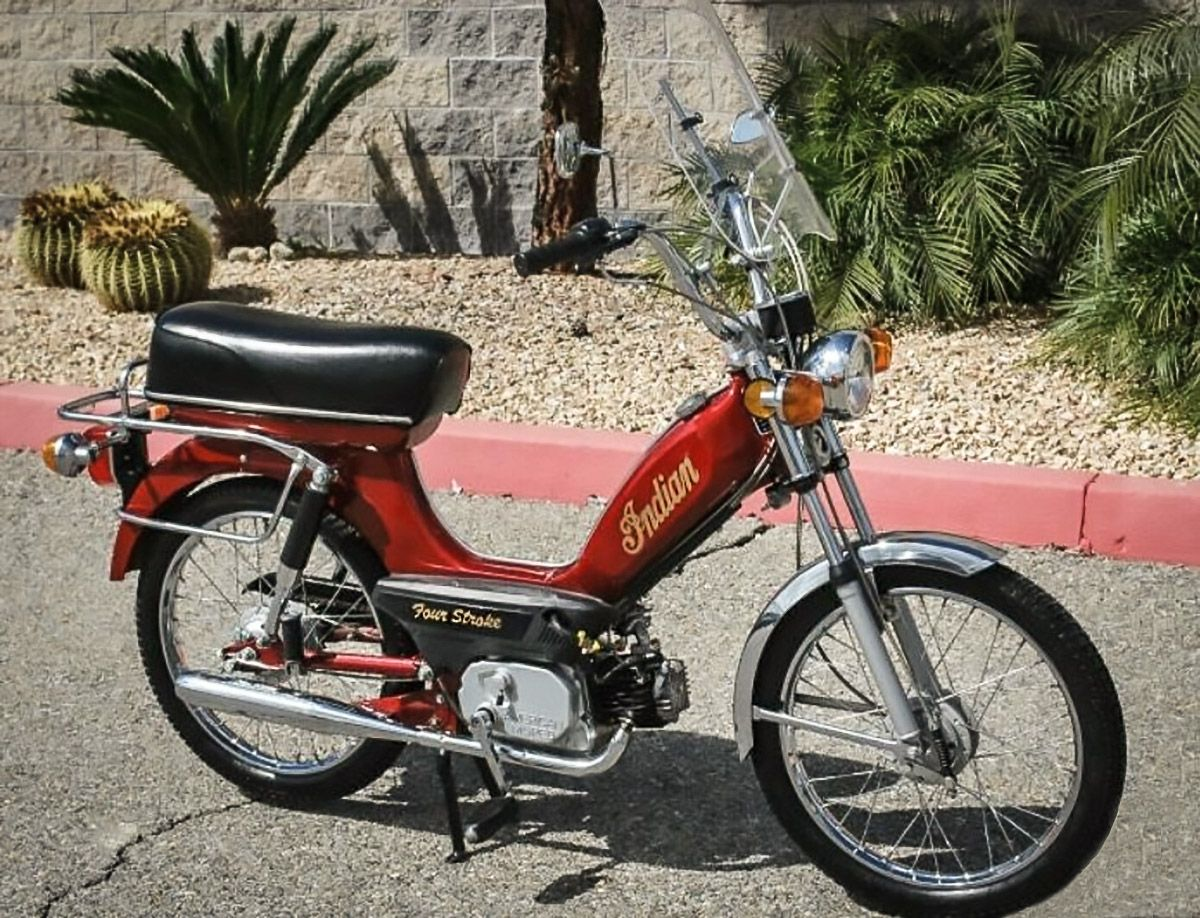1979 Indian Moped Moped Motorcycles And Scooter Motor Scooters
