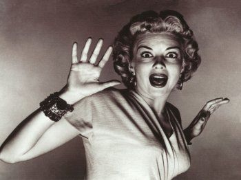Image result for woman screaming in in movies