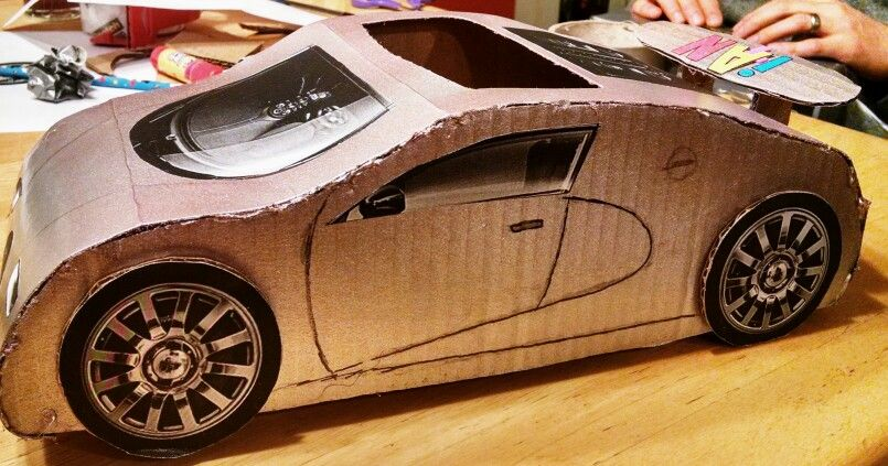 bugatti veyron valentine box holidays pinterest craft. Black Bedroom Furniture Sets. Home Design Ideas