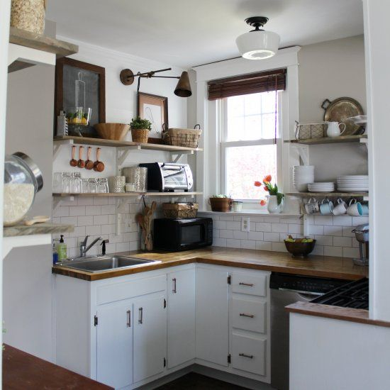 Remodel Kitchen With White Cabinets: DIY Kitchen Remodel, Done On A Very Tight Budget In A Very