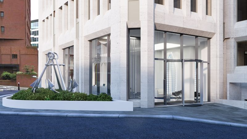 London EC3 Serviced Office Space on the outside with a something special on the inside