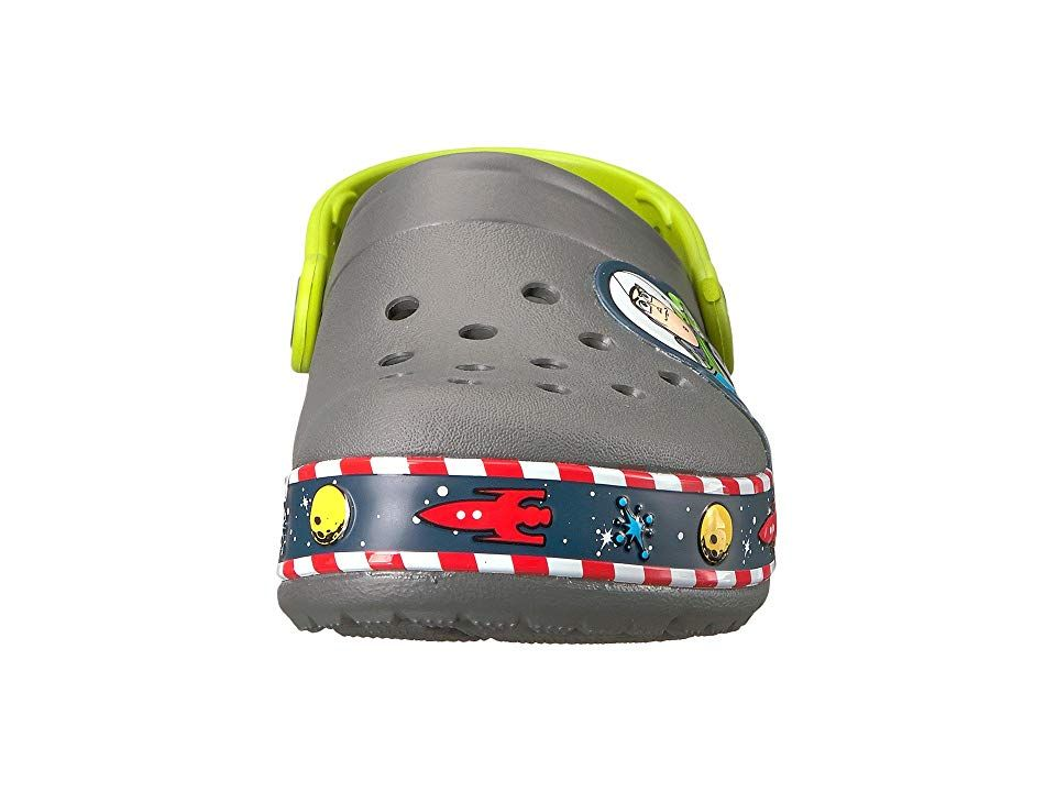 949184f6c6f0e Crocs Kids Crocband Fun Lab Buzz Lights Clog (Toddler Little Kid) Kids Shoes