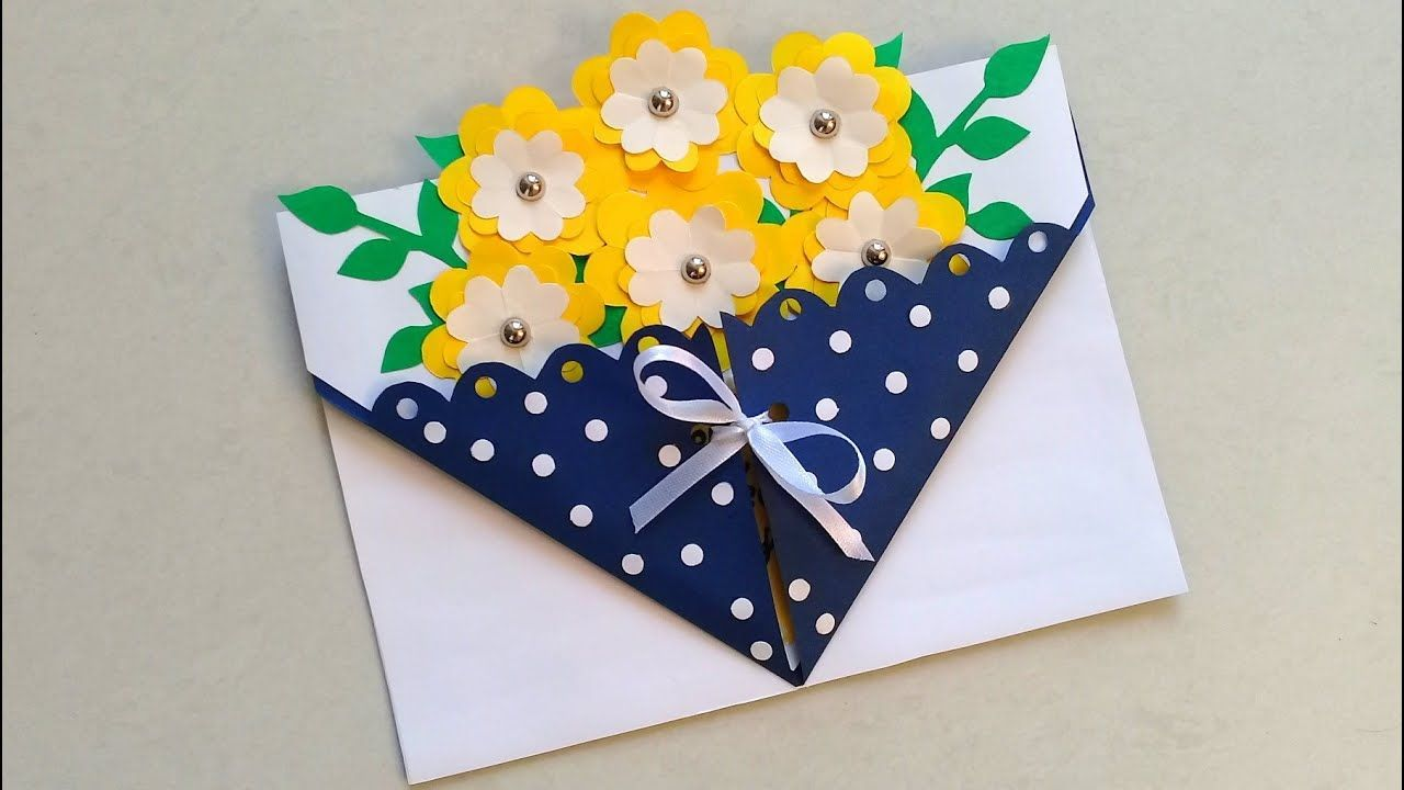 Beautiful Card For Teacher In 2021 Cards Handmade Teachers Diy Beautiful Handmade Cards