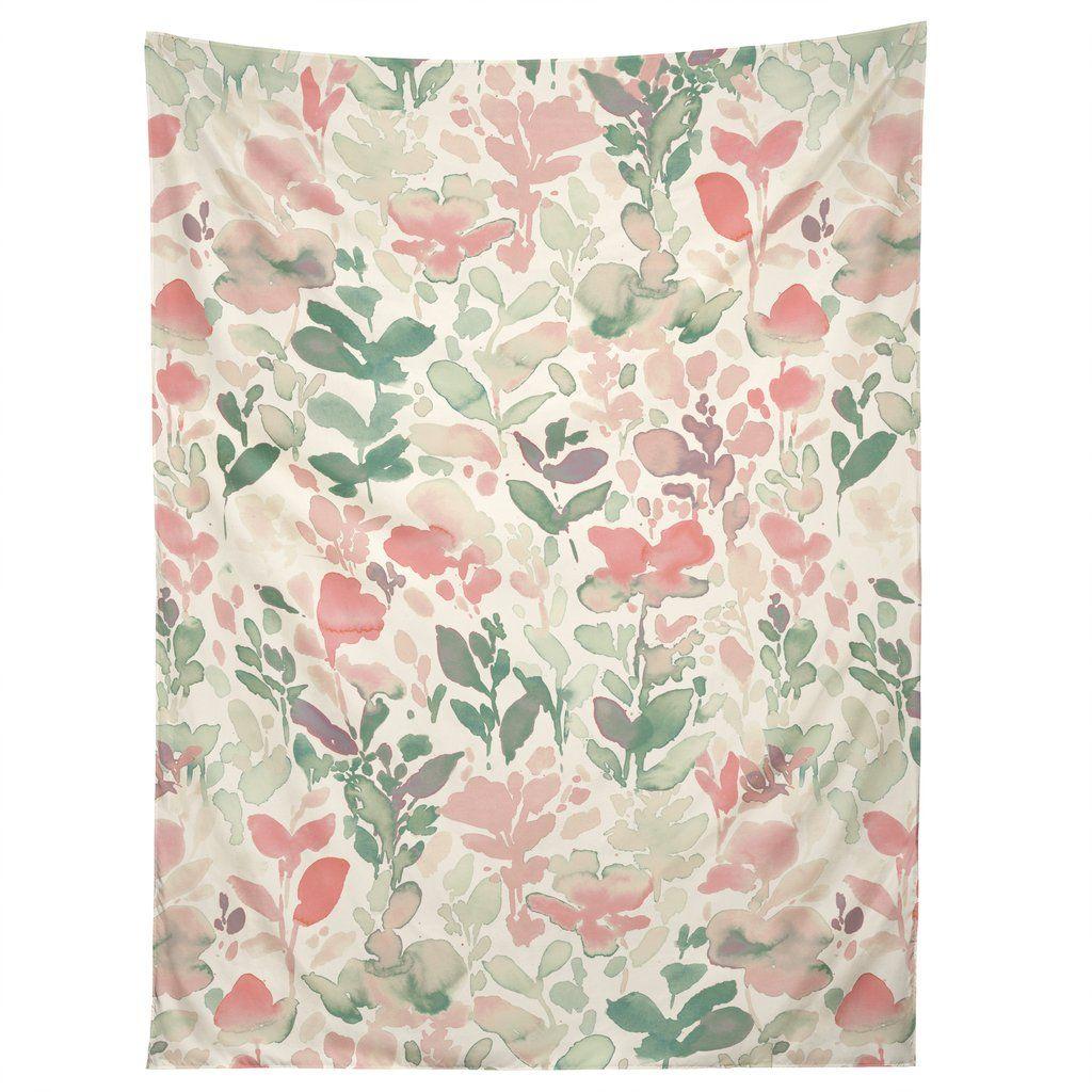 Jacqueline Maldonado Flirt Pale Green Tapestry