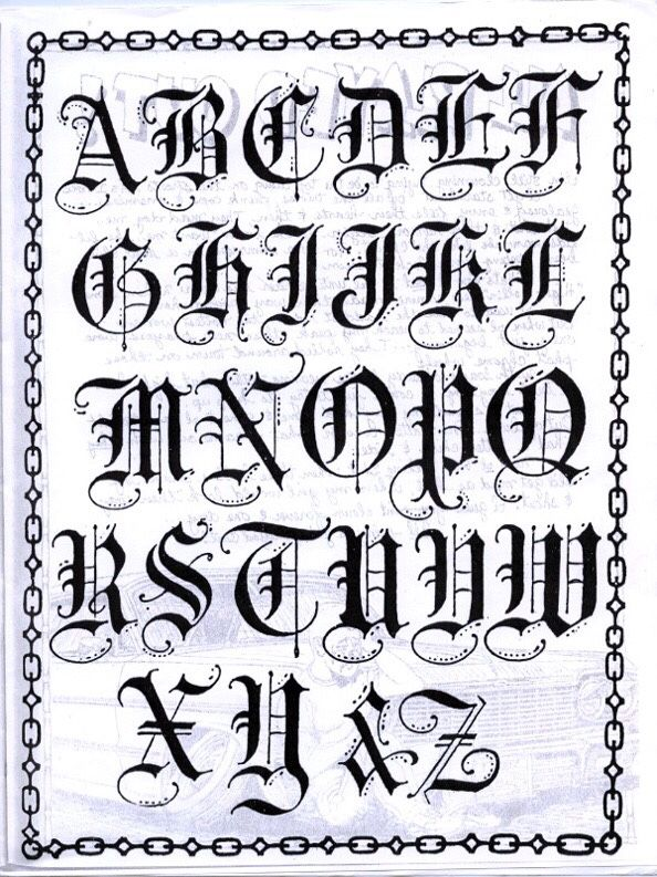 Teen Angels | chicano tattoos | Calligraphy tattoo fonts