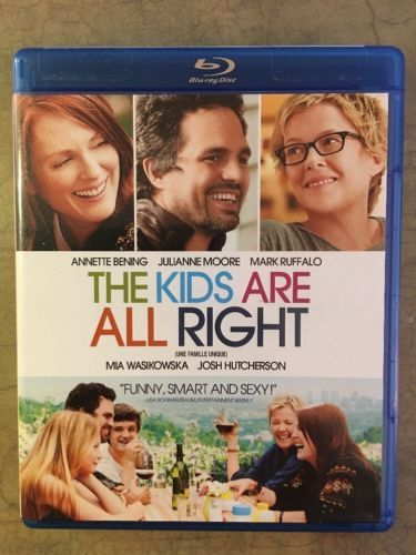 The Kids Are All Right Blu Ray Disc Romance Movie Poster Blu