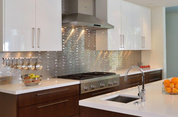 Crédence cuisine moderne pour un intérieur chic et original !