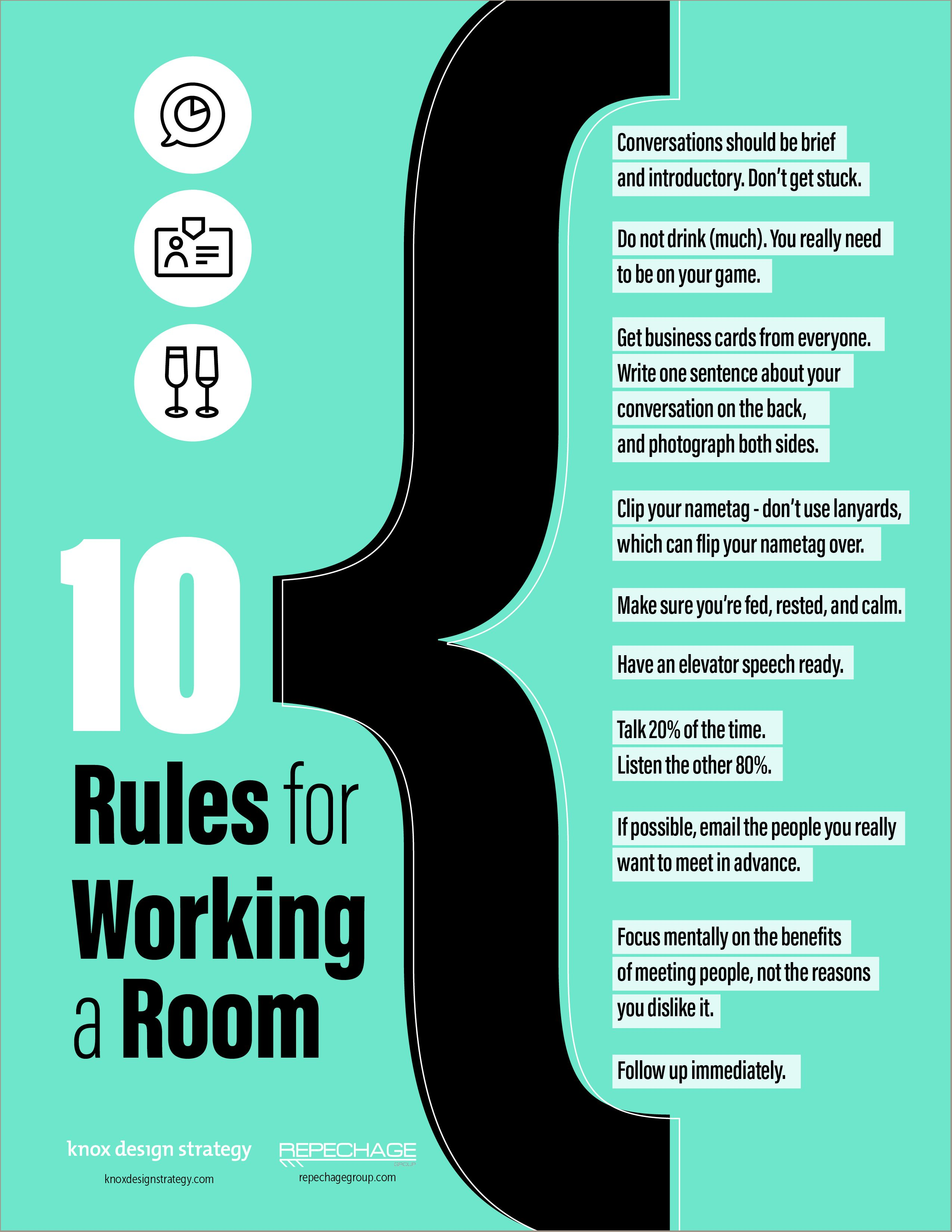 10 rules for working a room infographic knox design for Room design rules