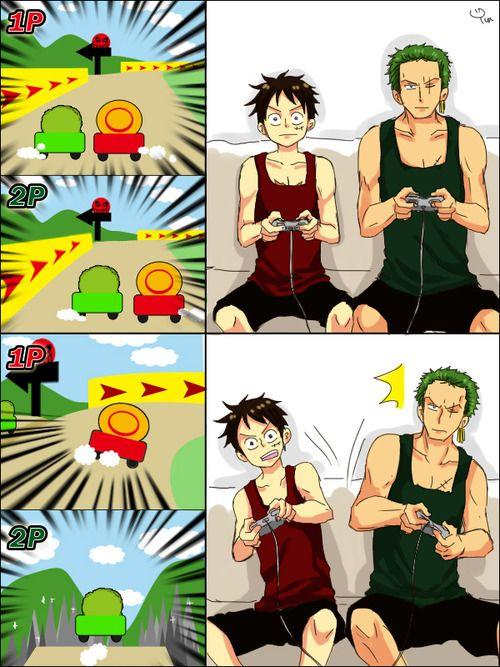 Luffy, Zoro | One Piece - Roronoa Zoro | One piece, One ...
