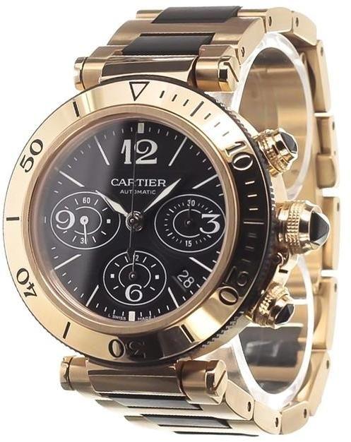 Cartier 'Pasha' analog watch