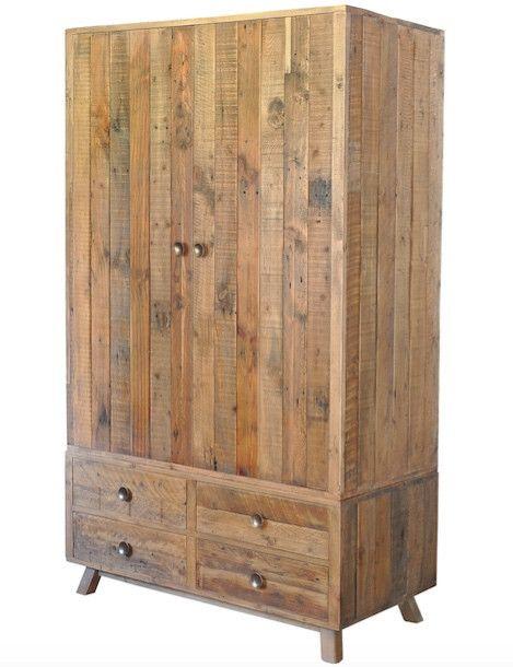 Nilsson Rustica Reclaimed Wood Wardrobe  Woods