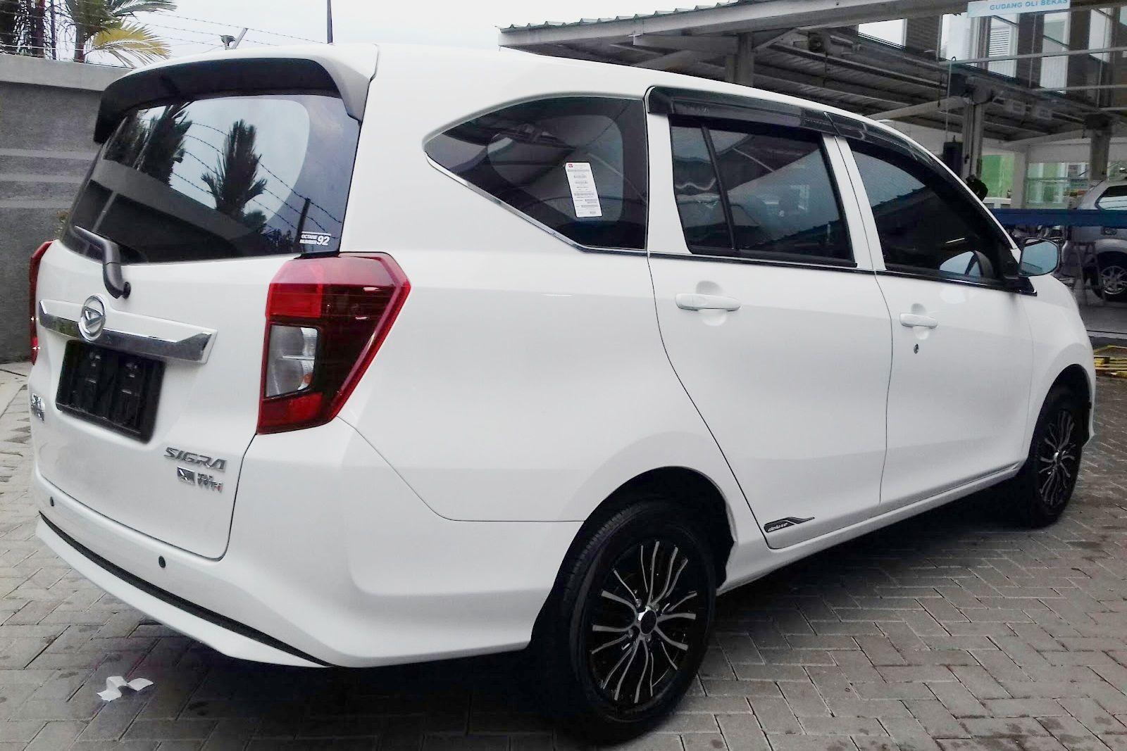 Modifikasi Mobil Sigra Warna Putih Modifikasi Mobil Daihatsu Kendaraan