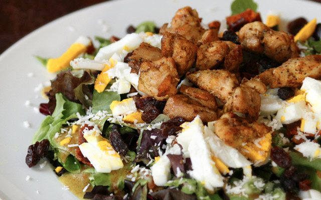 recipe: chicken curry party salad [19]