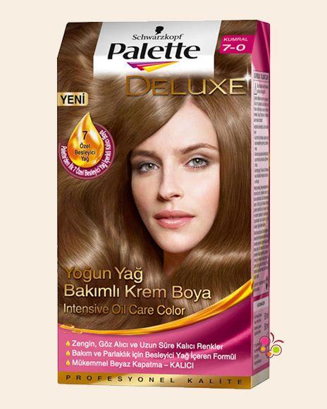 Palette Set Sac Boyasi 7 0 Kumral Sac Sac Boyasi Palet