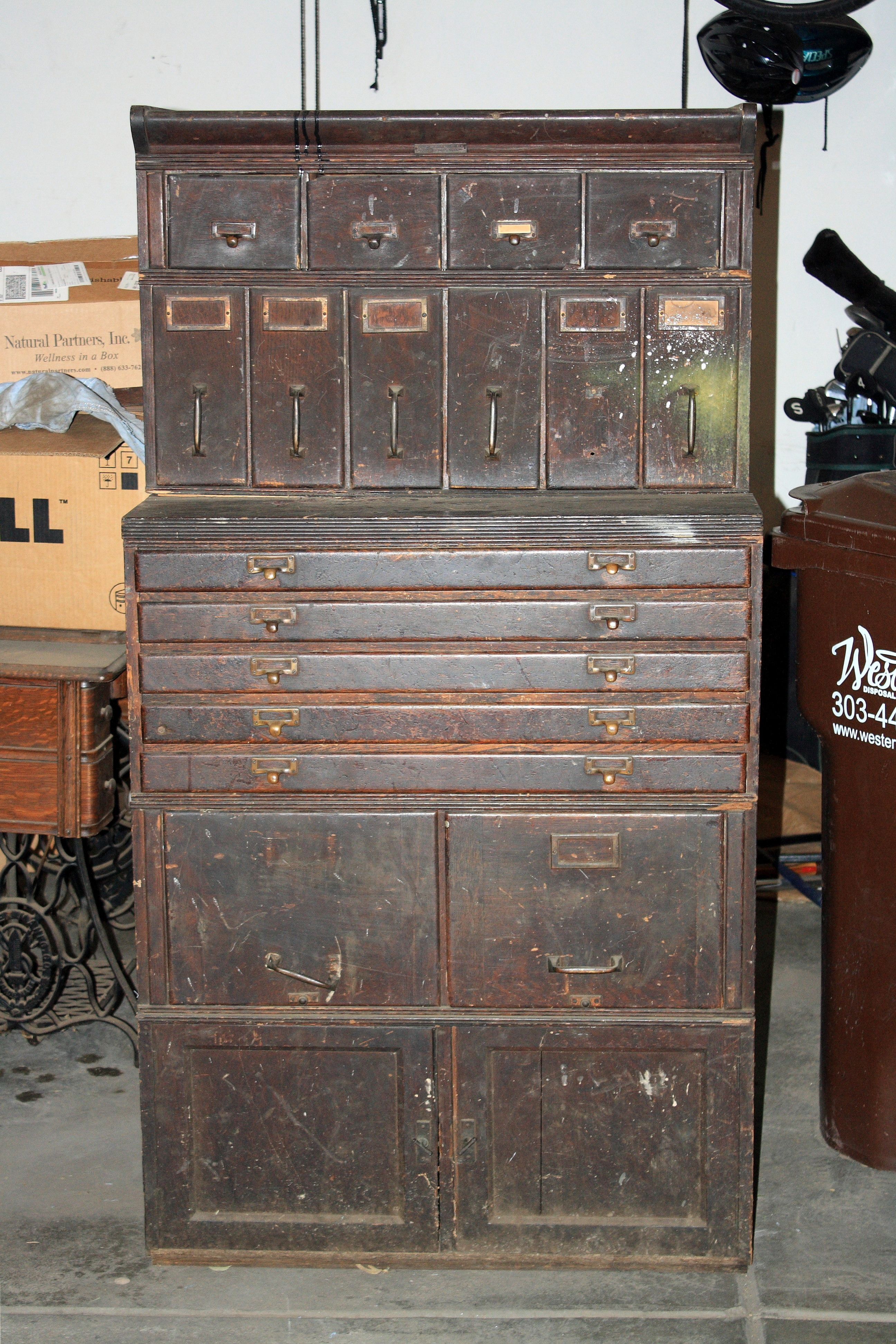 For Sale: An oak library bureau made by the American ...