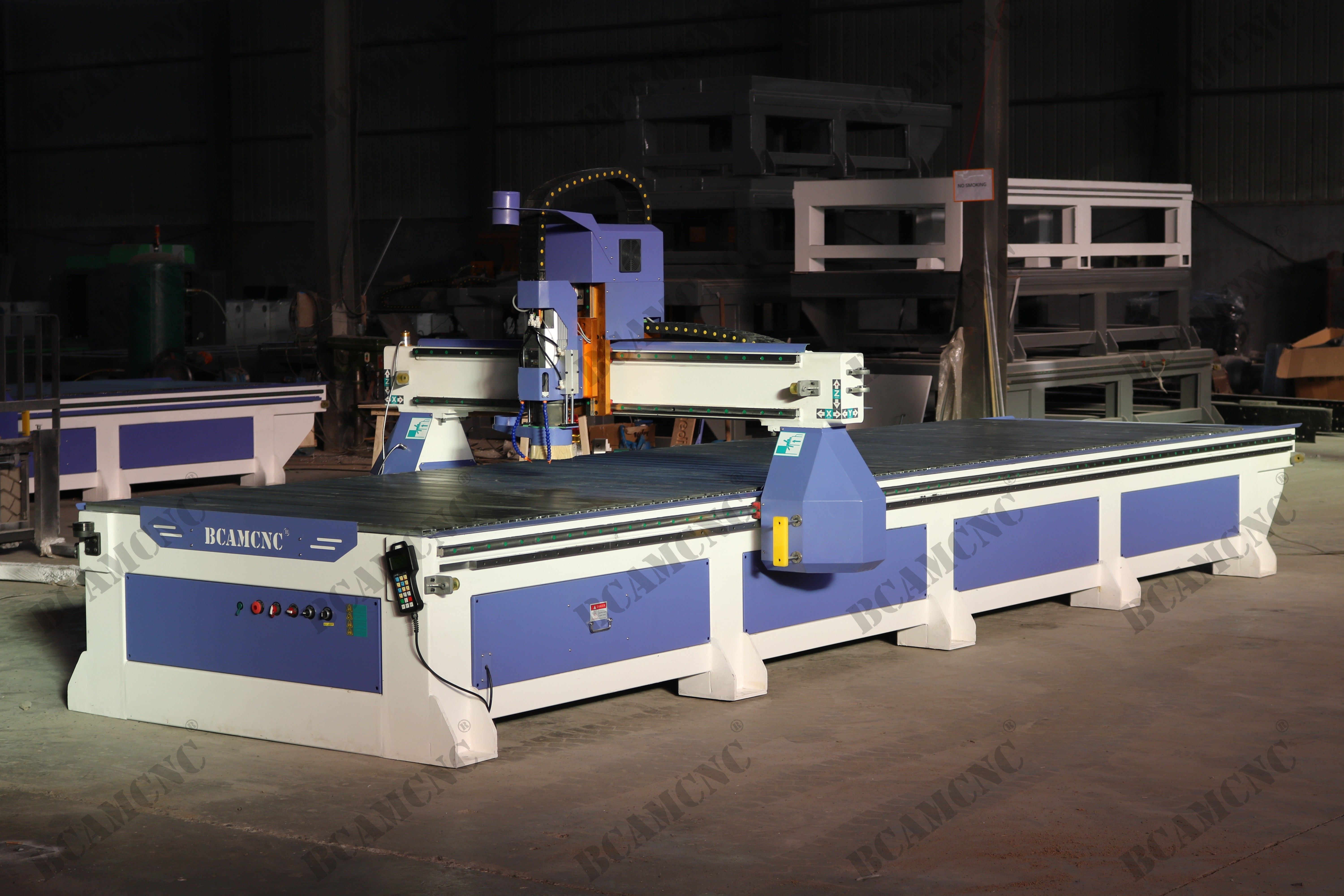 Big Size 1500*6000mm single head cnc router for some large ...