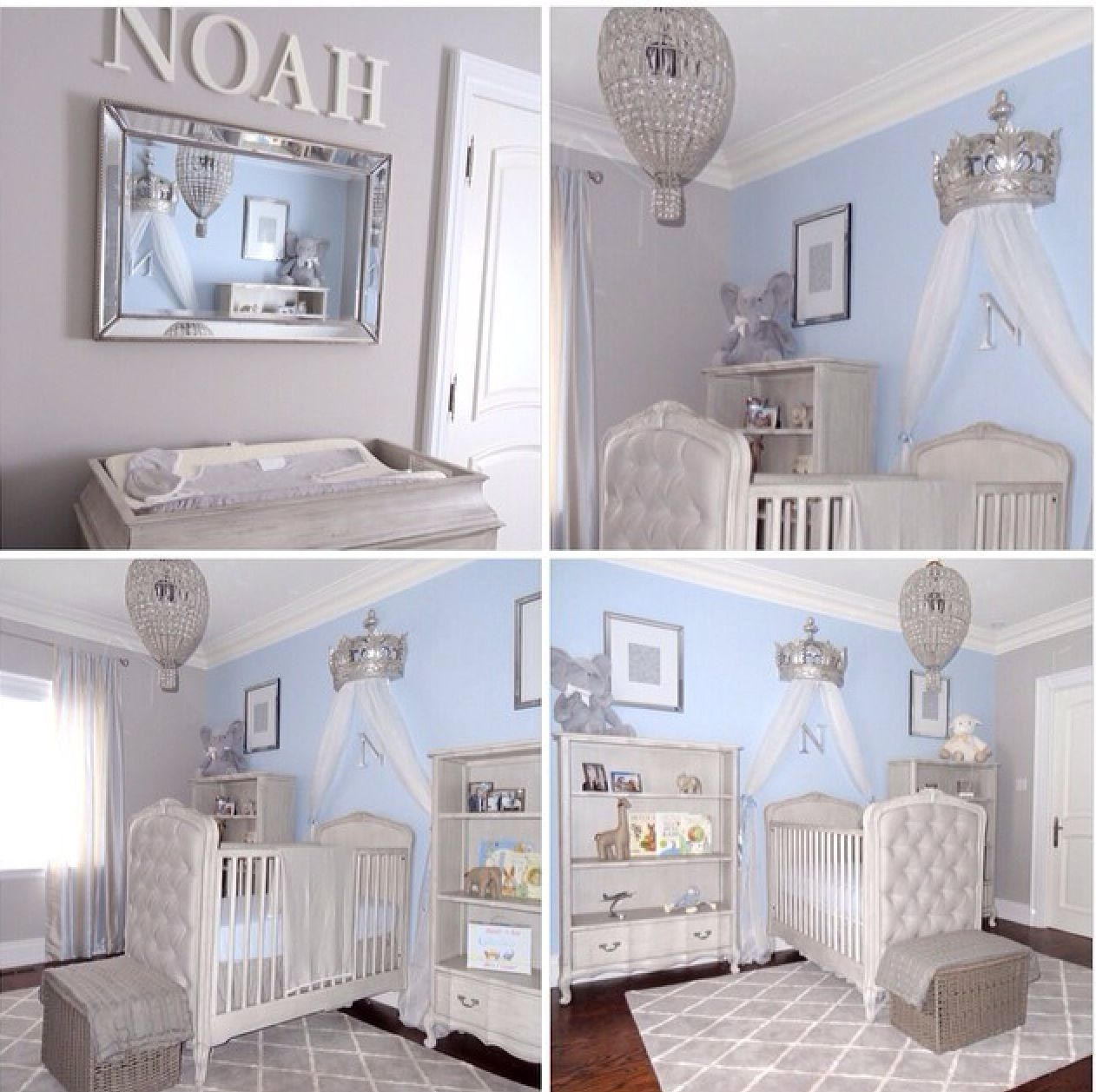 Baby Blue Bedroom Ideas Omg Love This Perfect Baby Nursery So Adorable Blue