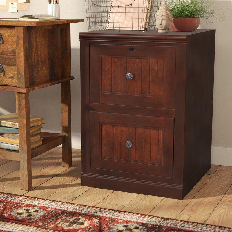 Didier 2 Drawer File Bush Furniture Filing Cabinet Rolling Chair