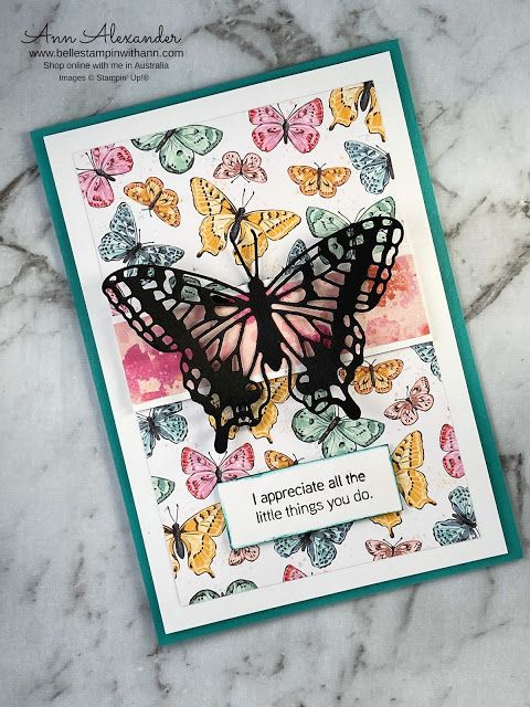 Butterfly Bouquet cards and unboxing