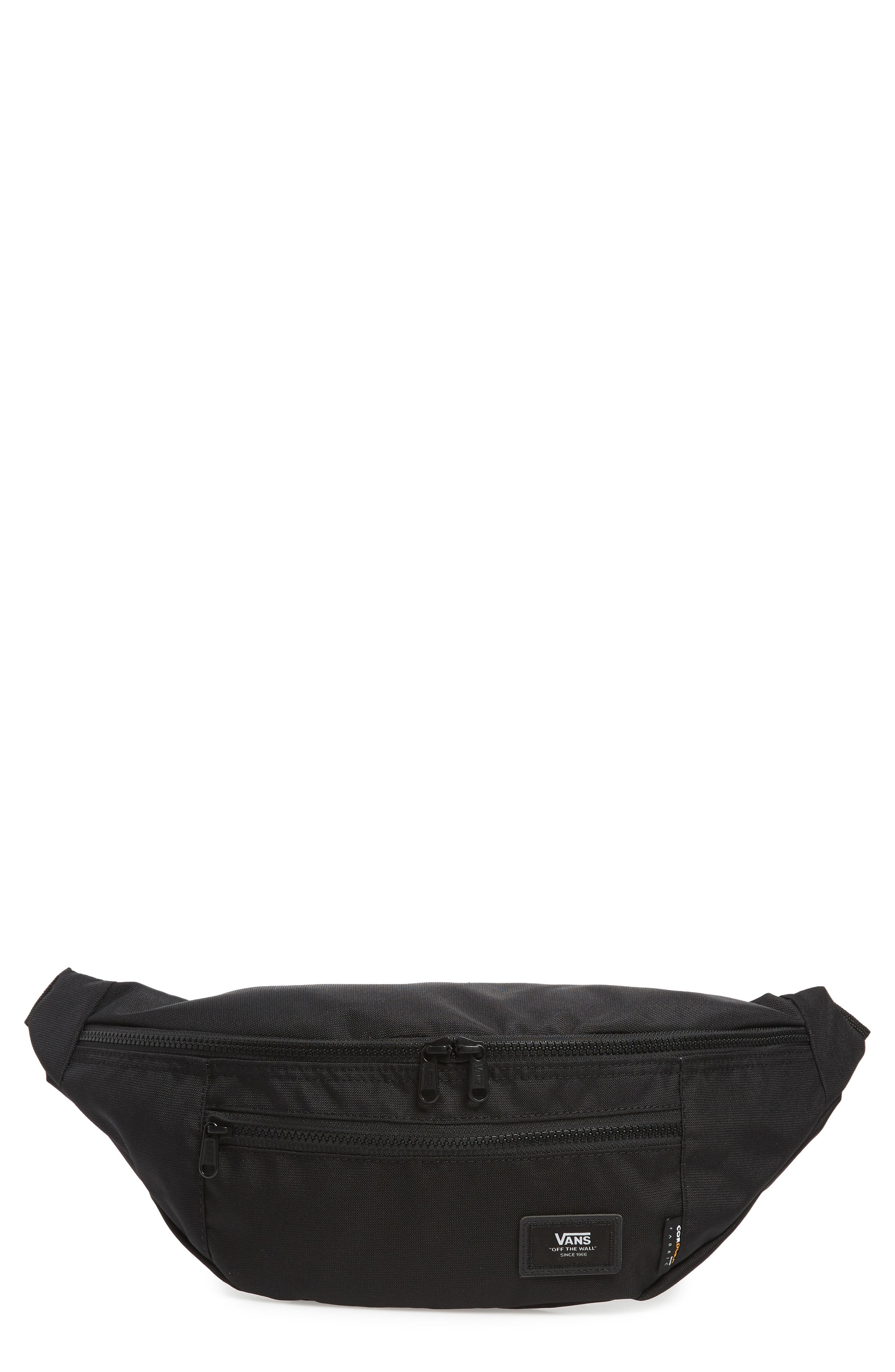 300a52ba71 VANS WARD WATER REPELLENT WAIST PACK - BLACK.  vans  bags  canvas  polyester