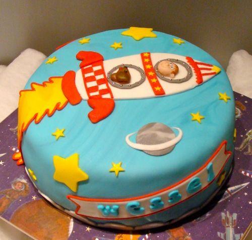 raket topper taart - Google zoeken
