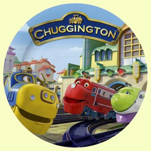 Mesmerizing Chuggington Plates Photos Best Image Home Interior