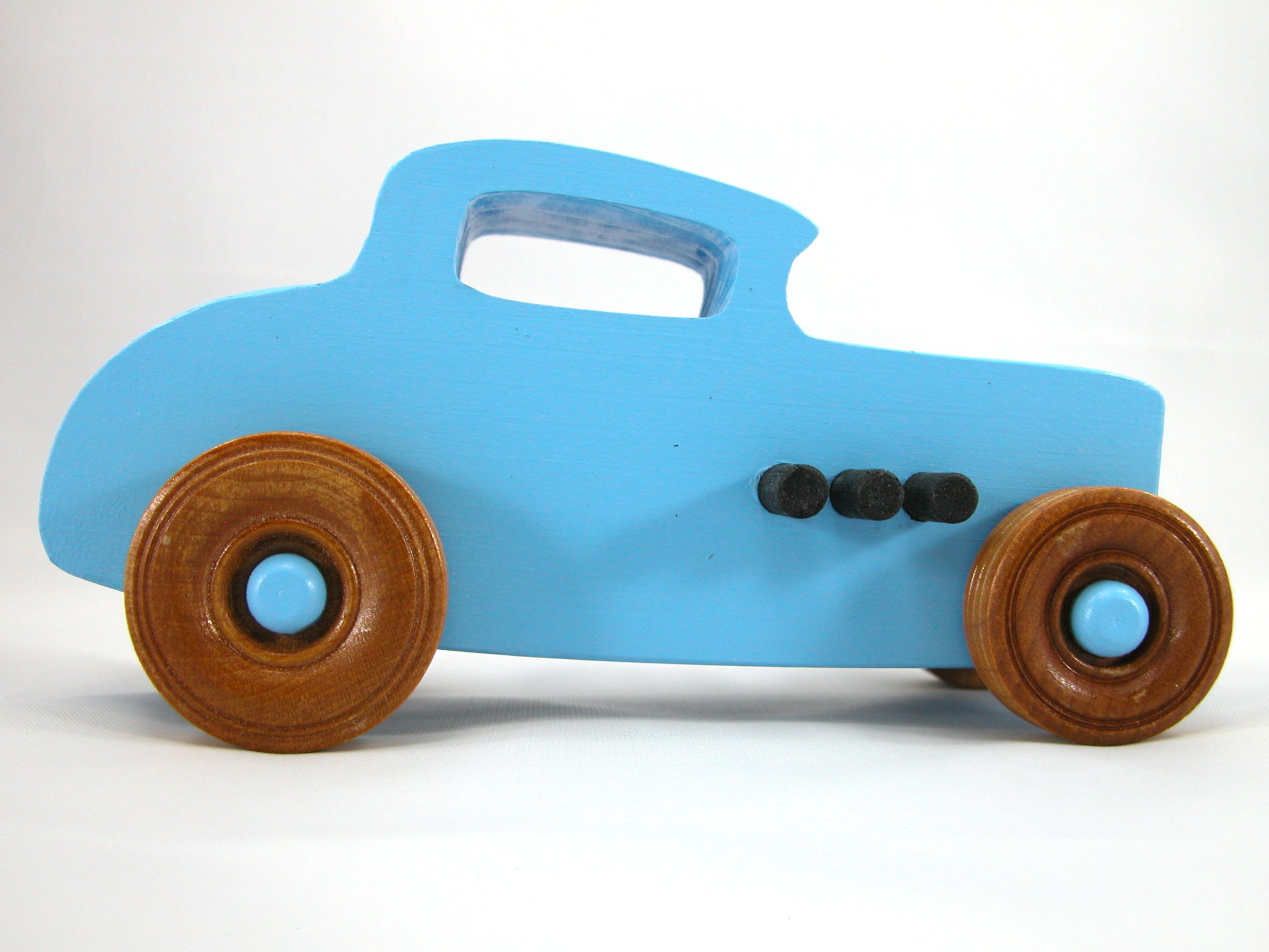 Wooden Toy Car  Ford Deuce Coupe Little Deuce Coupe Hot Rod