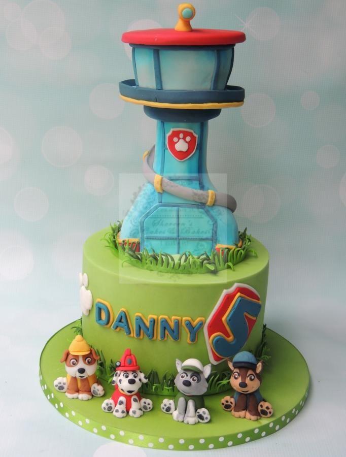 Party Pups Birthday Cake