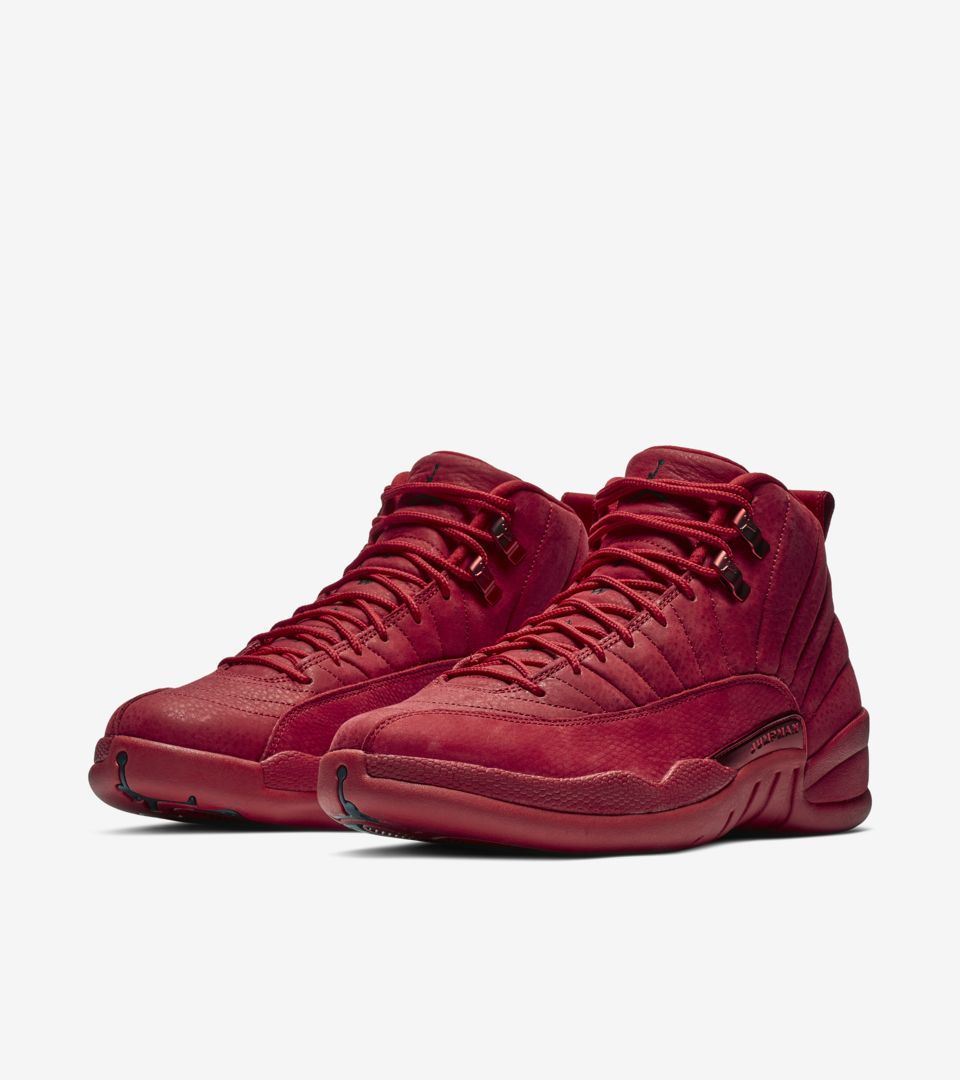 Air Jordan XII (12) Retro  Gym Red   Black  -Release Date  Saturday ... 0523f2fc7
