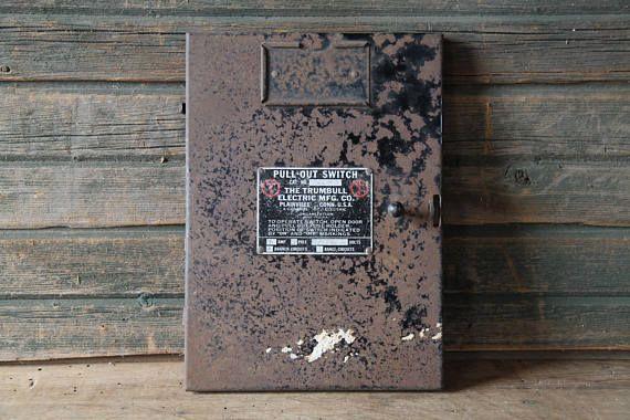 trumbull electric fuse box andy s antiques and farm decor rh pinterest com Fuse Box School Fuse Box School