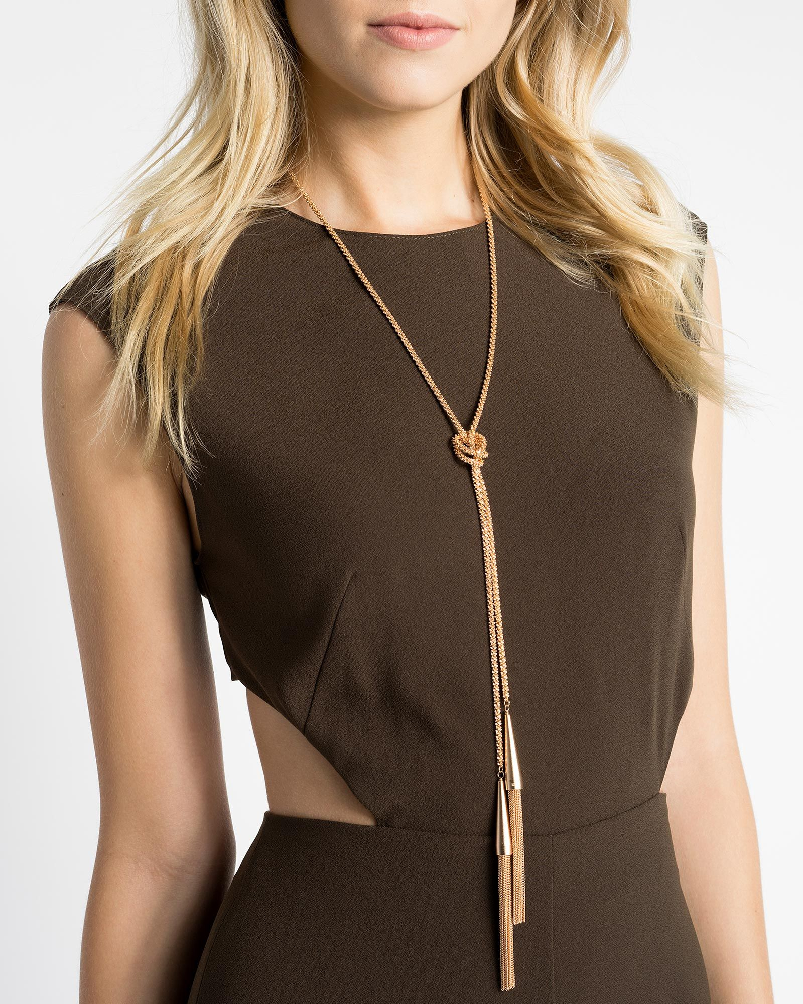 Phara Necklace in Rose Gold Wanted Pinterest Rose Gold and