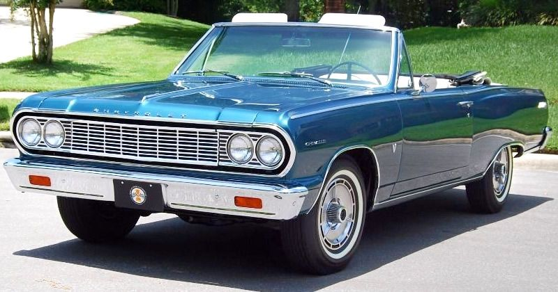 1964 Chevrolet Chevelle Malibu SS Convertible - 283 Turbo-Fire V8