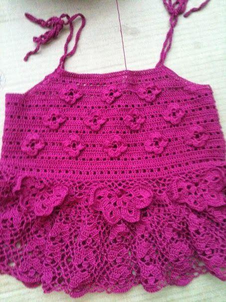 ATENCIÓN: Muchas de las piezas de las blusas están hechas a crochet ...