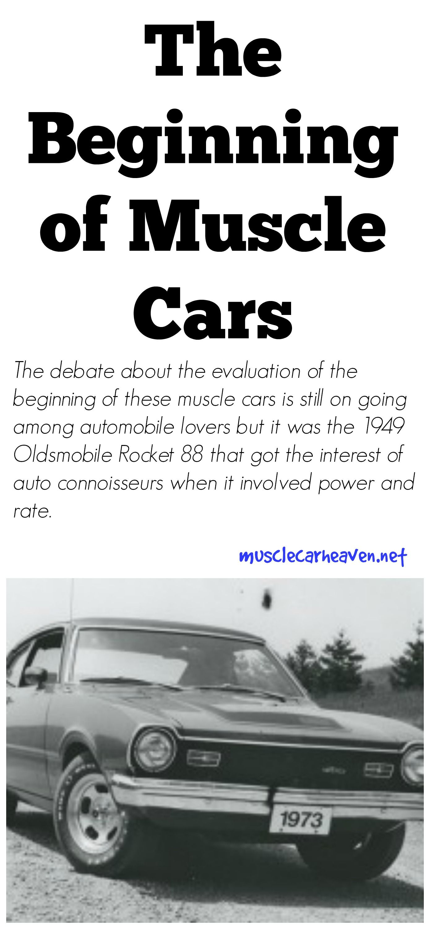 Muscle car is the name made use of for a wide variety of high ...