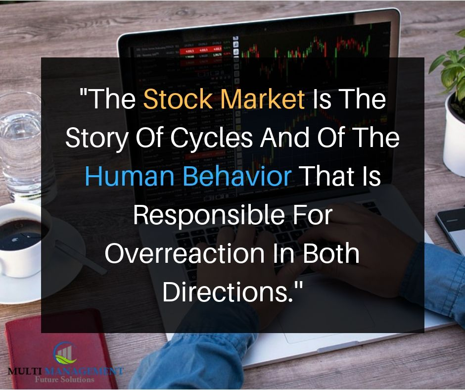 The Stock market is a device for transferring money from