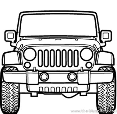 Jeep Rubicon 3d Model On Behance Jeep Rubicon Jeep Art Jeep Drawing