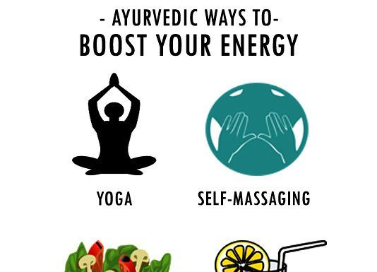 AYURVEDIC WAYS TO BOOST YOUR ENERGY LEVELS