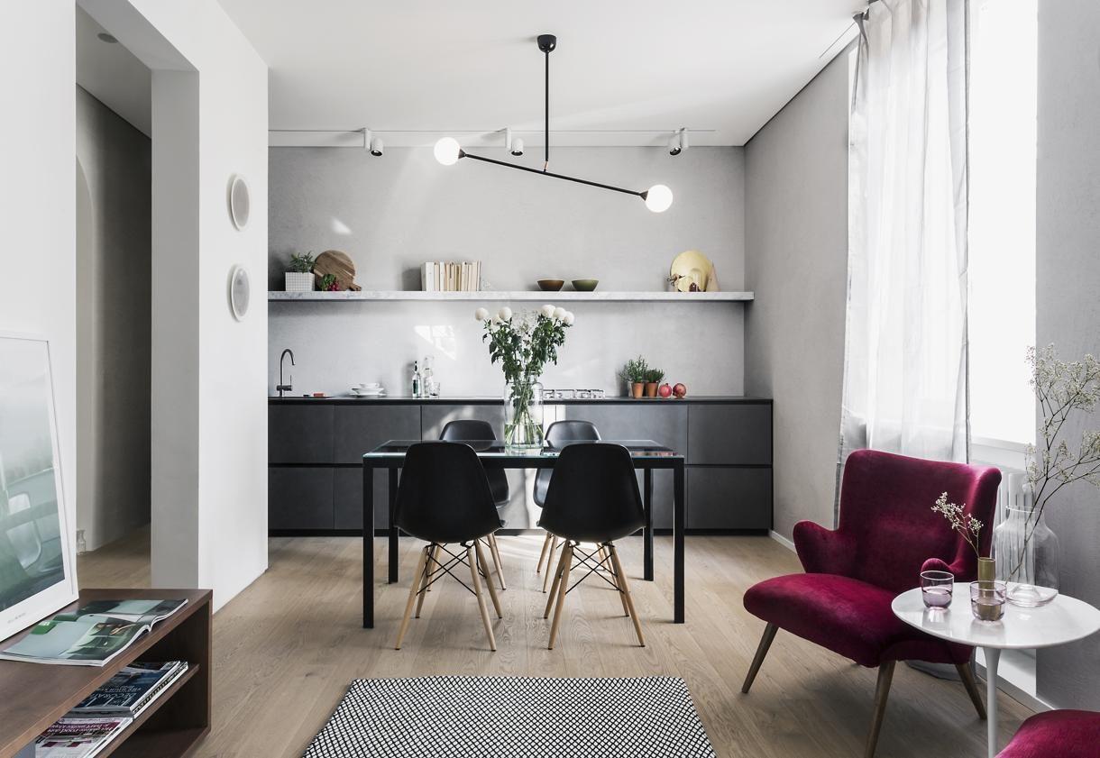 Mini appartamento sui Navigli Living Corriere Interno